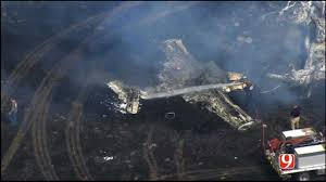Wildfire Credit Union by Fatal Plane Crash Sparks Wildfire Near Union City News9 Com
