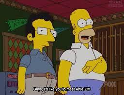 742 Evergreen Terrace Floor Plan Jon Lovitz As Artie Ziff On The Simpsons 742 Evergreen Terrace