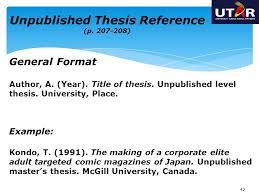 Dissertation planning Dissertation planning we take asa citation