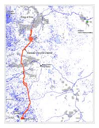 Canada Rail Map by Kwg Resources Inc Kwg Cse Rail Corridor