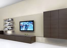 wall mounted component shelves cabinet wonderful built in tv cabinet design tv component