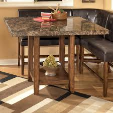 Ashley Furniture Round Dining Sets Furniture Counter Height Pub Table For Enjoy Your Meals And Work
