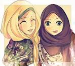 Gambar Kartun Muslim Muslimah islami
