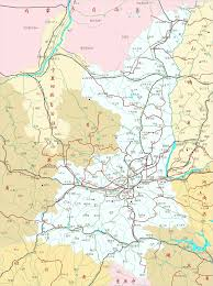 Map Of China Provinces Shaanxi Province China Overview Map By Chinareport Com