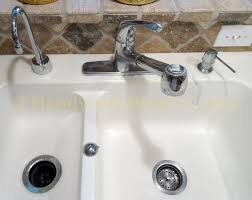 Repairing A Kitchen Faucet by How To Replace A Kitchen Faucet Handymanhowto Com