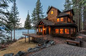 Log Home For Sale Luxury Homes For Sale In Cape Cod Lake Tahoe And Lake Geneva Wsj