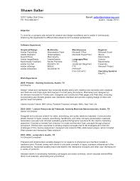 resume format objective resume examples beginner resume template download for student resume examples shawn salter objective work experience beginner resume template software experience professional experience phone