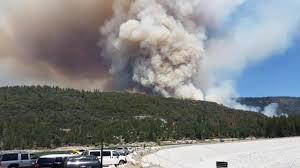 Willow Wildfire California by Photos Wildfire Burns Near Bass Lake Abc30 Com