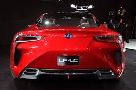lexus concept cars lexus lf lc crazy about car