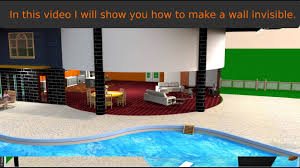 sweet home 3d transparent wall youtube
