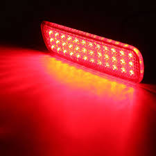 lexus lx470 uk pair led brake tail light rear bumper reflector fog light for