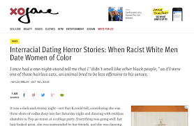 Interracial Dating Horror Stories  When Racist White Men Date Women of Color