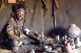 N     anga  spiritual healer or herbalist  of the Shona people  Great Zimbabwe