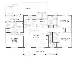ranch house plans pleasanton 30 545 associated designs cool 3