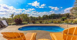 hocking hills villa the observatory vacation rental with swimming
