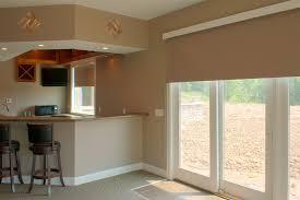 window treatment ideas for doors 3 blind mice garage door window
