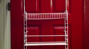 pantry organization back of door storage rack part 2 youtube