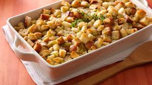 Stuffed Thanksgiving Turkey Bread Stuffing Recipe Bettycrocker Com