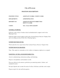 Oncology Nurse Resume Objective Deputy Clerk Resume Resume Cv Cover Letter