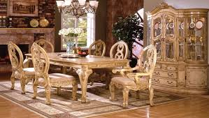 Antique White Dining Room Furniture Tuscany Dining Room Set - Tuscan dining room