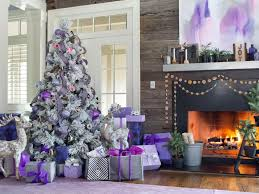 Christmas Home Decorations Pictures 40 Christmas Tree Decorating Ideas Hgtv