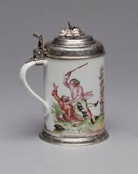 Porcelain by From The Collection U2013porcelain Tankards Milwaukee Art Museum Blog