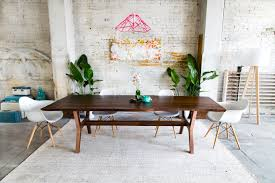 Mid Century Modern Dining Room Tables Robert William Moderncre8ve Cleveland Oh