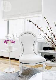 Feminine Living Room by Small Space Feminine Manhattan Condo Style At Home