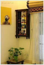 Wall Hanging Shelves Design 63 Best Pooja Cabinet Images On Pinterest Puja Room Prayer Room