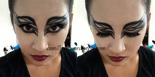 black swan halloween makeup u0026 costume