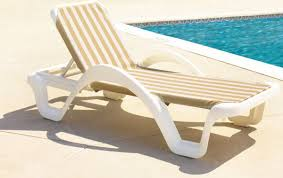 trendy white rattan modern pool lounge chair design ideas with