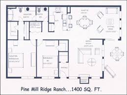100 ranch style floor plans open house plans for 1600