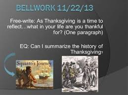 The History Of Thanksgiving Video Watch The Video And Then U2026answer Why Did The Puritans Leave