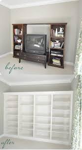 Ikea Bookshelves Built In by 18 Best Office Built In Images On Pinterest Built In Bookcase