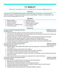 medical lab technician resume sample outstanding hvac technician resume career history cv format for sheet metal resume examples hvac technician resume sample