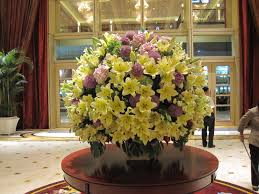 large floral arrangements and hotel lobby on pinterest idolza