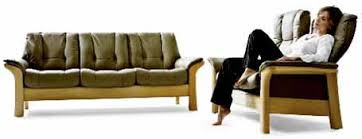 Low Back Sofa by Ekornes Stressless Windsor Low Back Sofa Loveseat Chair And