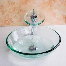 Kitchen Sink With Faucet Set Online Get Cheap Kitchen Sink Glass Aliexpress Com Alibaba Group