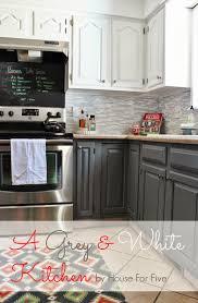 Elements Home Design Salt Spring Island Grey And White Kitchen Makeover Remodelaholic Bloglovin U0027