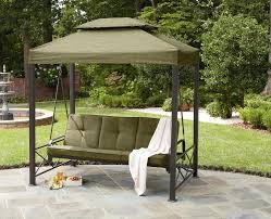 patio gazebos and canopies garden oasis 3 person gazebo swing limited availability
