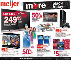 best deals for tv on black friday meijer u0027s full black friday ad leaks killer tv deals 299 ps4