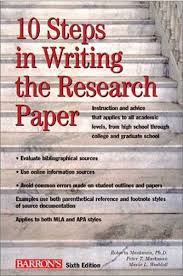 university research paper RECOMMENDED READING FOR WRITING THE RESEARCH PAPER WRITING THE RESEARCH PAPER Colorado State University