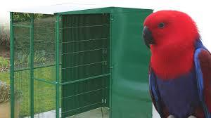 oiseaux en metal volières en métal pour oiseaux la ferme de beaumont