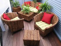 White Resin Wicker Outdoor Patio Furniture Set - furnitures how to make wicker patio furniture durable bench
