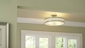 Foyer Chandeliers Lowes by Flush Mount And Semi Flush Mount Buying Guide