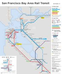 Amtrak Capitol Corridor Map by My Favorite Regional Transit Maps
