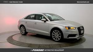 lexus at stevens creek service certified used 2015 audi a3 for sale in san jose ca near