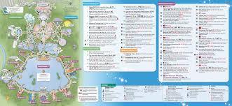 Printable Map Of Disney World Epcot Park Map Adriftskateshop
