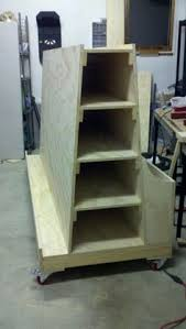 Rolling Wood Storage Rack Plans by Rolling Lumber Storage Rack All Repurposed Material My