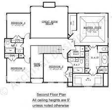 Colonial Floor Plans Wesley Narrow Floor Plans Traditional Floor Plans